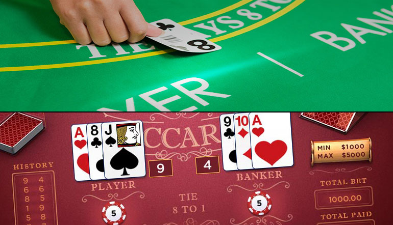 Play Baccarat Card Game Free